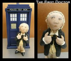 Clay First Doctor by vandonovan