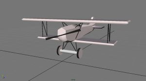 3D Toy Biplane by TwinkleCarnage