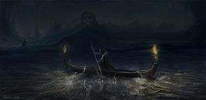 The Ferryman Charon by tamowicz