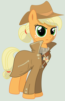 Applejack, Mare of the Ministry of Technology by ScarletLightning565