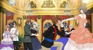 APH: *-:May I Have This Dance?:-* by KIMKIM14