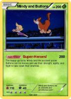 Mindy and Buttons Pokemon Card by Amphitrite7