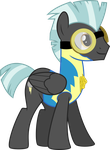 Happy Cadet Thunderlane by ChainChomp2