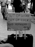 Out of Luck, Out of Work by artiseverywhere410
