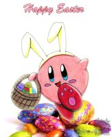 kirby: Happy Easter by aprict