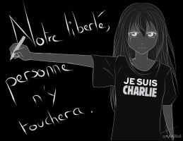 Je suis Charlie by MairisuAmane