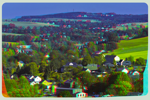 Vogtland III 3D ::: HDR Anaglyph Stereoscopy by zour