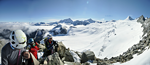 Mountaineering panorama by Zwoing