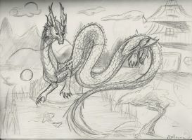 Chinese Dragon by Spellcheck-15