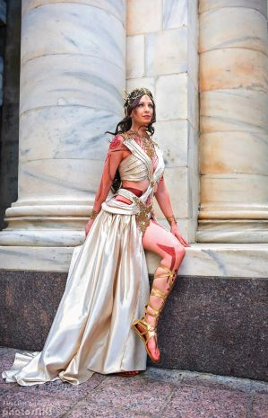 Dejah Thoris - Zodanga Wedding Dress by FireLilyCosplay
