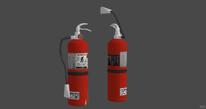 Fire Extinguisher - Rigged by ProgammerNetwork