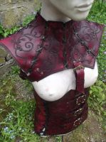 Replica Mord Sith leather accessories by Artapologia