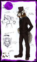 Jack anthro ref sheet by Anarchpeace