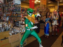 Green Power Ranger by Jovianwolfgirl