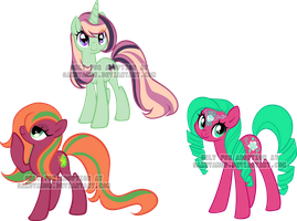Mare Pony Adoptables 5 by Sakuyamon