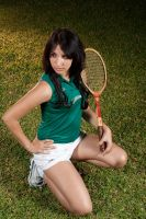 Me as sporty girl XD by Leuxdeluxe