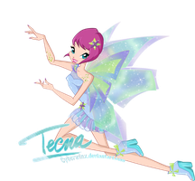 Winx Club: Tecna Mythix 2D by Cyberwinx