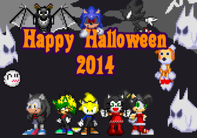 Happy Halloween 2014 by Somcothehedgehog