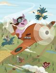 So Pigs can fly? by CourtneyBowen