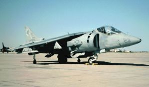 Tomcats AV-8B  Before Rebuild by F16CrewChief