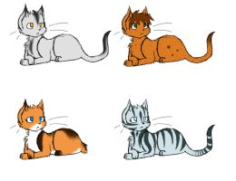 Cat Adoptable Batch by EtchsAdopts
