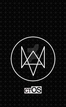 Watch Dogs - ctOS grid iPhone wallpaper by reese-s