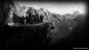 Eagles' Rock 3 Black and White by Mithrandir29