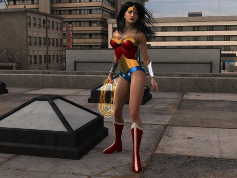 Wonder Woman : 90's by sgreco1970