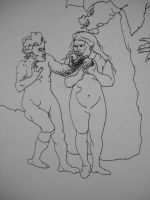 Rembrandt's Adam and Eve by Jeremiah29