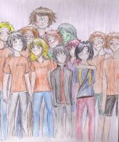 Camp HalfBlood. by pokings