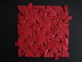 Iso Area Cross Pattee Tessellation - Daniel Kwan by Atriee