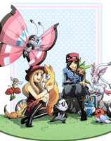 Pokemon XY -- All New Pokemon! by Ashikai
