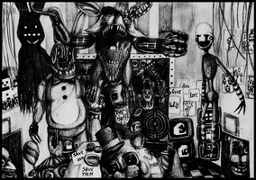 Five Nights At Freddy's by Dye-Macabre