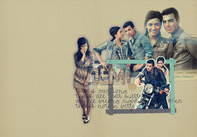 Demi Lovato Joe Jonas Wallpaper by Krazy-Kriti