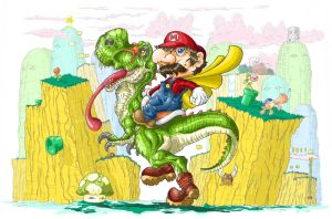 Mundo do Super Mario by RenannUp