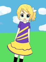 rin kagamine by sora0cacahuate