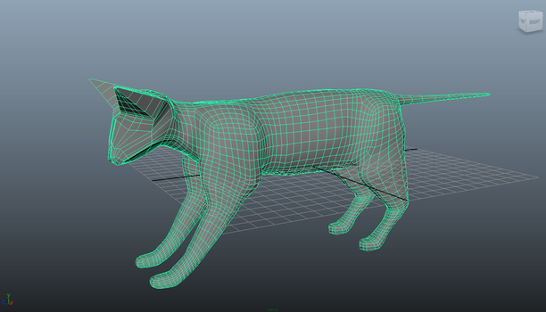 3d Cat model by Camracam