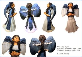 Blue Jay Angel by canvey