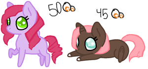 Pony adoptables batch 3 by PuppySprinkles