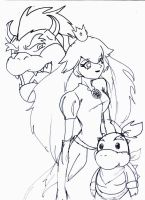 For all BowserxPeach Fans by SweetBaiTsa
