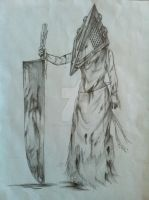 Female Pyramid Head by SwordKnight131