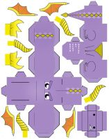 Spyro Cubeecraft papercraft by scarykurt
