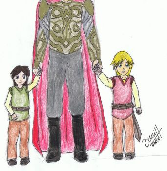 Father and Sons (Coloured) by thepatronsaintx