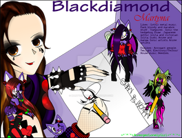 Blackdiamond Martyna ID by Martyna-Chan