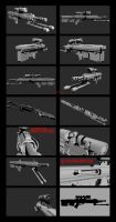 Contention: UNMC ACSP-52 Sniper Rifle by Malcontent1692