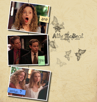 Collage Ally McBeal by xaide89