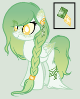 Mlp OC - Honey Jade Sold by OwlliesPonies