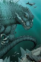 Godzilla: Rulers preview 1 by KaijuSamurai