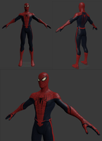 Spider-man model edit thingy v2 by Superman999