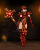 High Inquisitor Whitemane by MischiArt